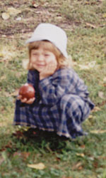 'The Little Apple Girl' Photo taken by Nicodemus, used with permission